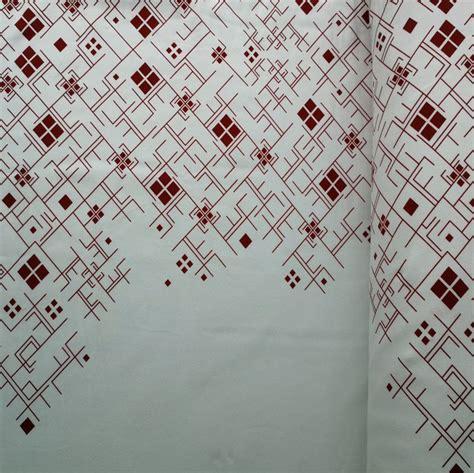 Sarkani raksti uz balta fona ( šobrīd nav pieejams) - Veikals - Ziile Fabrics