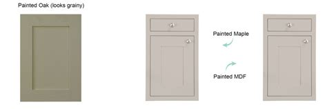 how to paint mdf kitchen cabinet doors mdf vs wood prasada kitchens and cabinetry 9511