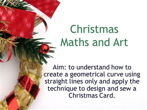 Christmas Maths Activities Ks2, Ks3 Powerpoint By Clearodgers  Teaching Resources Tes