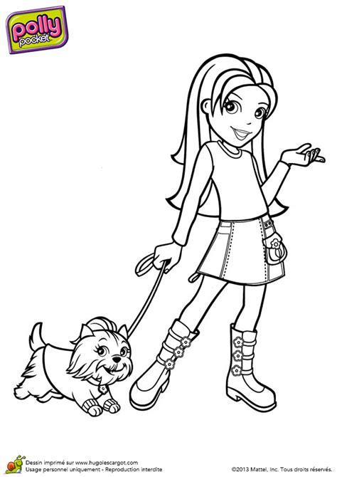 jeu de cuisine avec coloriage polly pocket promène chien hugolescargot com