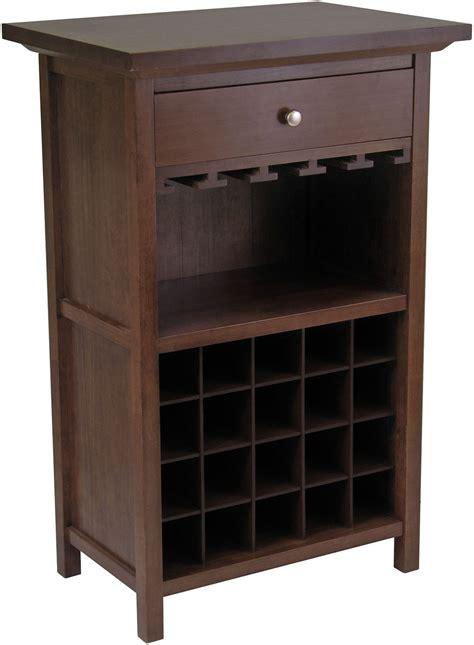 antique wine cabinets chablis antique walnut wine cabinet 94441 winsome 1301