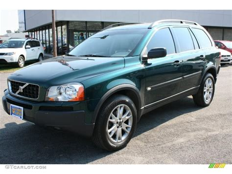 cypress green metallic volvo xc  awd