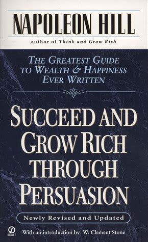 succeed  grow rich  persuasion  napoleon hill