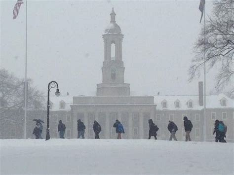 State College, PA - Penn State Cancels Tuesday Classes ...