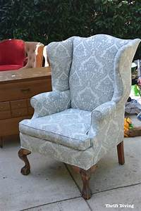About A Chair : how to reupholster a wingback chair a step by step ~ A.2002-acura-tl-radio.info Haus und Dekorationen