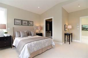 Bedroom Paint Color Ideas Pink Beige Carpet And Headboard Skirt Green Beige Walls Taupe Accent Pillows And Coverlet And
