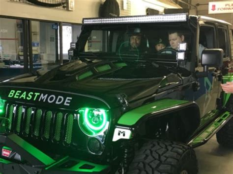 Beast Mode Jeep by Nfl Marshawn Lynch Beast Mode Jeep Dpccars