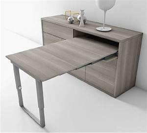 Table 4 Personnes : un buffet qui se transforme en table 4 personnes en ~ Melissatoandfro.com Idées de Décoration