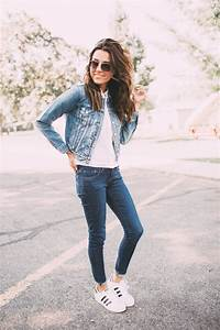Best 25+ Jeans and sneakers ideas on Pinterest | Gigi hadid outfits Celebrity outfits and Jeans ...