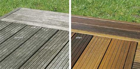 clean decking wood finishes direct