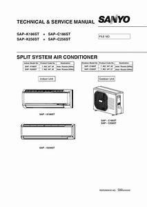 Technical  U0026 Service Manual Split System Air Conditioner