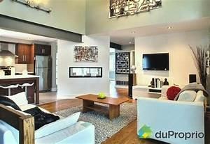 decoration salon aire ouverte With salon et cuisine aire ouverte