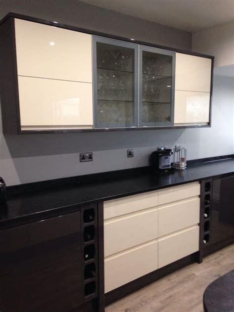 Wickes Sofia cream and graphite mix.   Personal kitchen
