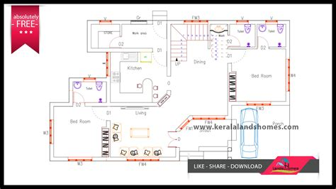 Download Low Budget Free Kerala House Plans And