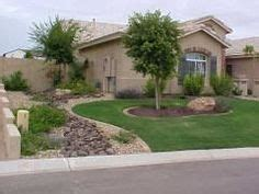 front yard landscaping ideas in arizona landscape border river rock mulch put it in the garden shed pinterest rock and rivers