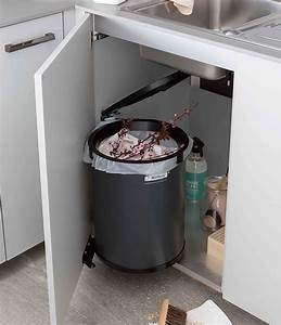 Meuble Poubelle Cuisine : meuble de cuisine 5 meubles poubelles pratiques et ~ Dallasstarsshop.com Idées de Décoration