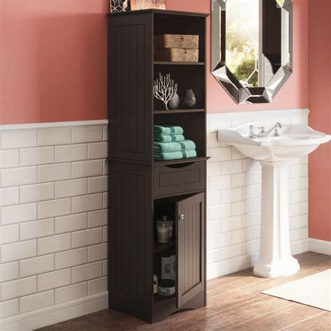 ashland collection tall linen cabinet bathroom storage