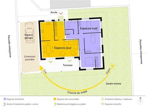 maison 3 chambres plain pied plan maison plain pied avec 3 chambres ooreka