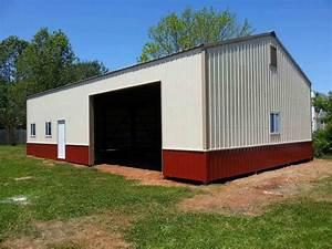 30x50x13 post frame building garage wwwnationalbarncom With 30x50x14 pole barn