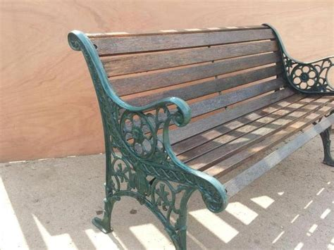 replacement wood slats for cast iron bench cast iron park bench replacement slats 28 images