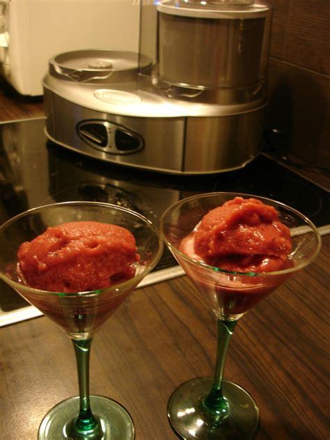 cuisine sans lactose sorbet tamarillo saké la cuisine sans lactose
