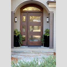 Modern Front Door  Home Interiors  Interior Design By