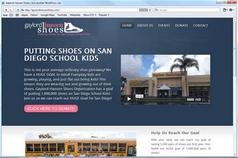 home decor website website design gaylord hansen shoes mito studios