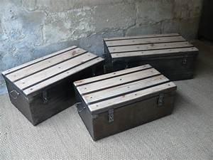 Table Basse Malle : malle m tal table basse mai ~ Melissatoandfro.com Idées de Décoration