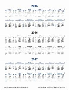 multi year calendars 2 and 3 year calendar templates With multiple year calendar template