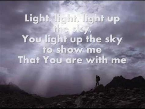 Light Up The Sky The Afters by Light Up The Sky The Afters W Lyrics