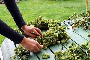 Kränze Binden Efeu : homemade and baked food blog diy herbstlicher t rkranz ~ Watch28wear.com Haus und Dekorationen