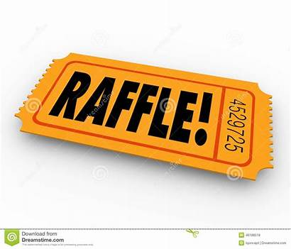 Raffle Ticket Drawing Enter Word Win Prize