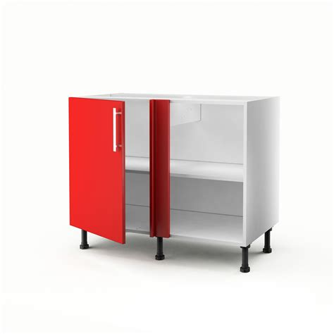 meuble bas cuisine 30 cm largeur meuble de cuisine bas d 39 angle 1 porte délice h 70 x