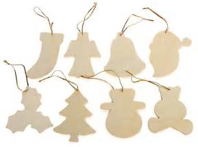 pkg 24 unfinished wood ornaments assortment and winter sale sales