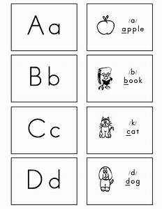 6 best images of printable letter cards for kindergarten for Flash cards alphabet letters
