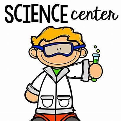 Preschool Science Clipart Centers Center Kindergarten Materials