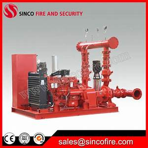 China Nfpa 20 Diesel Electric Jockey Controller Packaged