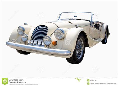 White Classic Car Stock Image. Image Of Shiny, Vintage