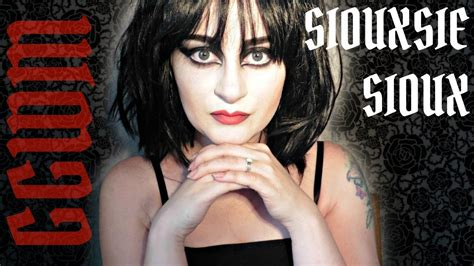 Siouxsie Sioux Inspired Makeup