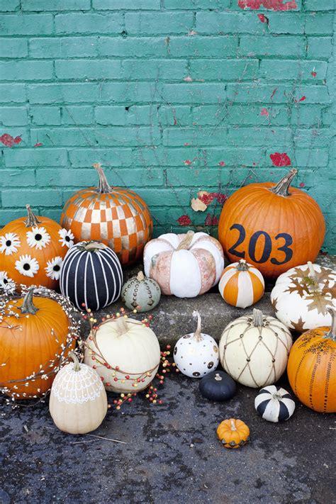 Easy Nocarve Pumpkin Ideas  A Beautiful Mess