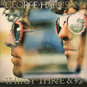 George Harrison Thirty Three Vinyl For