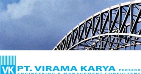 lowongan kerja bumn terbaru pt virama karya persero
