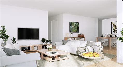 scandinavian design scandinavian parisian apartments in white