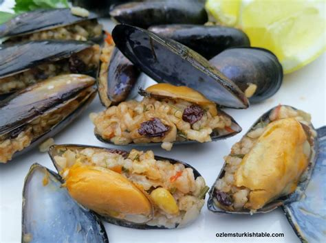easy cuisine how to style stuffed mussels ozlem 39 s