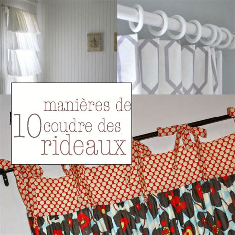 voilages cuisine originaux 10 façons de confectionner des rideaux de petit