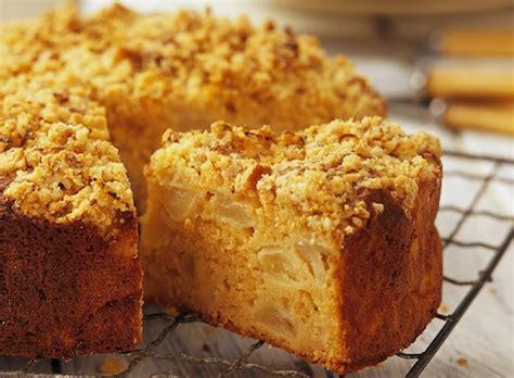 cuisine gateau aux pommes recette de gâteau de pommes au crumble grands mères