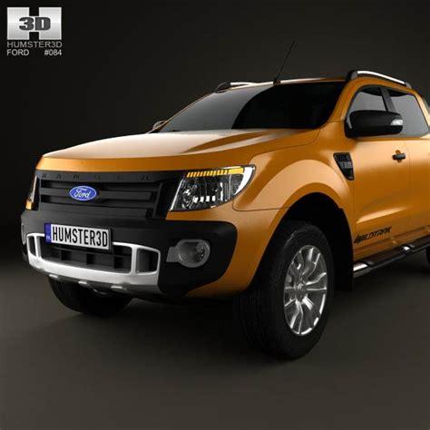 ford ranger wildtrak cab ford ranger wildtrak cab 2012 3d model hum3d