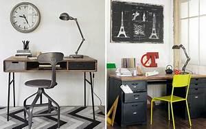 Bureau Style Industriel : le bureau un espace design et fonctionnel paperblog ~ Teatrodelosmanantiales.com Idées de Décoration