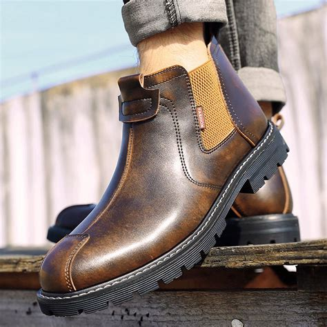 Red Eagle Retro Trend Chelsea Boots - JEANSFELLOW GLOBAL ...