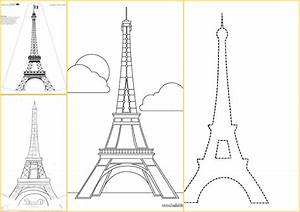 Plantillas de la Torre Eiffel Oh My Fiesta para Chicas!